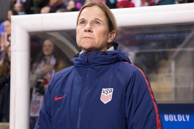 United States women's national soccer team coach Jill Ellis.
