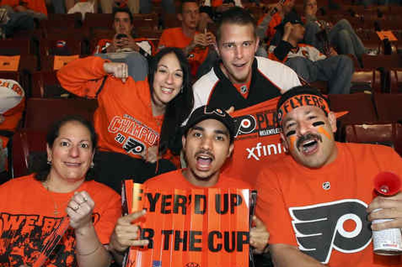 Broad Street Bully: Morale high among the Flyers