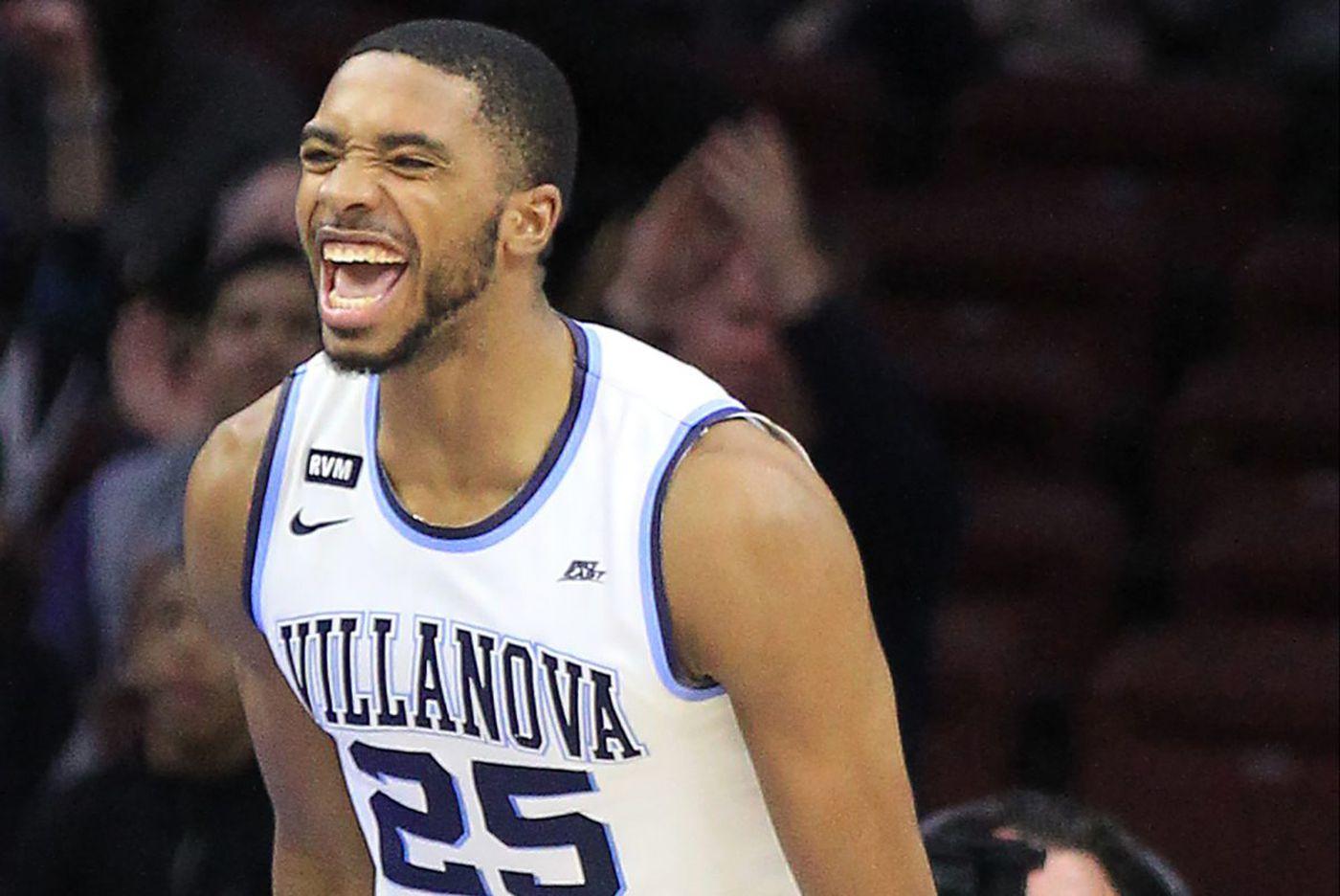 Villanova ends regular season with 97-73 win over Georgetown