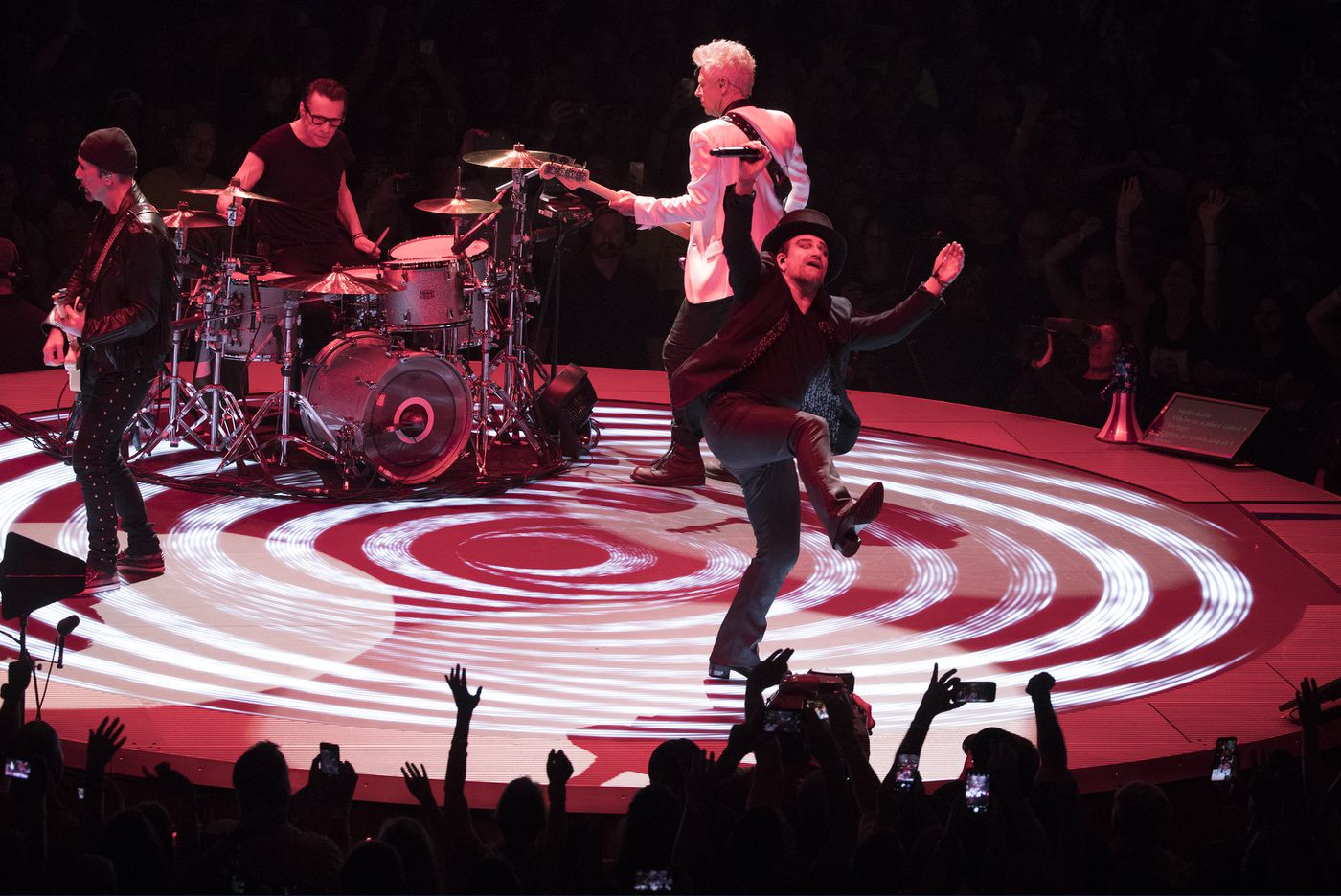 U2 keeps the faith with spectacularly staged 'Experience + Innocence