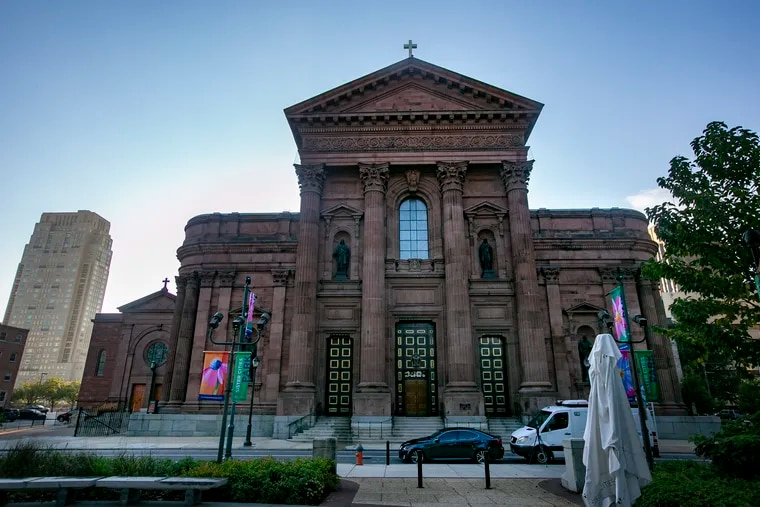 The Cathedral Basilica of S.S. Peter and Paul in Center City Philadelphia.
