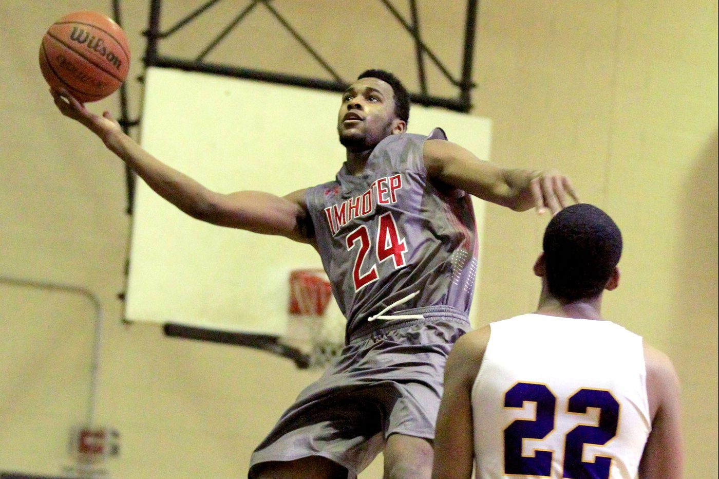 Imhotep basketball star Donta Scott commits to Maryland