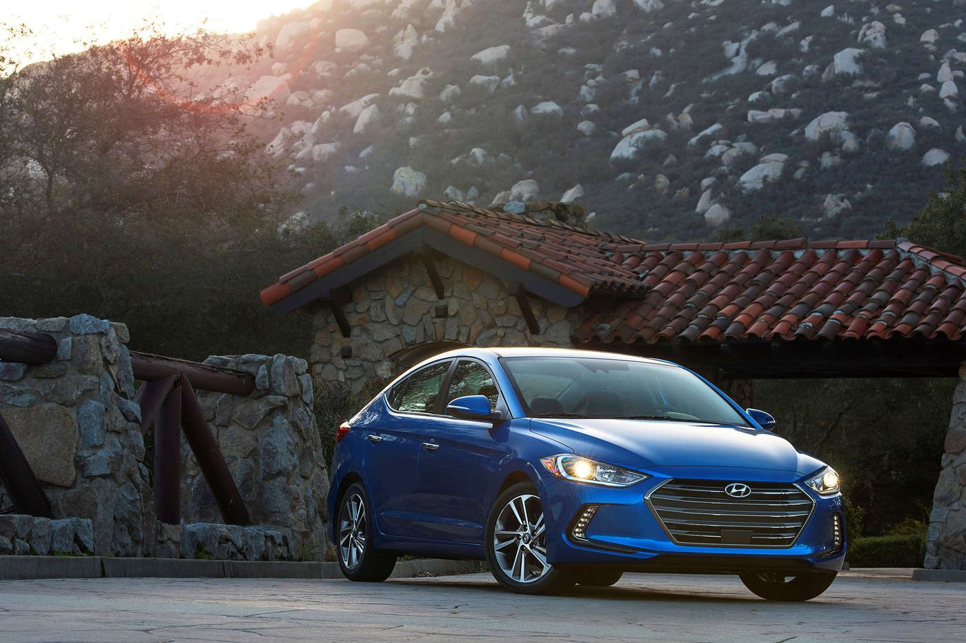 Elantra: strong contender in the compact segment