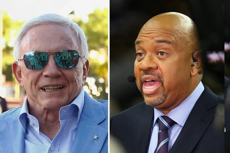 Dallas Cowboys owner Jerry Jones' decision to punish players who protest during the national anthem was blasted by ESPN host Michael Wilbon.
