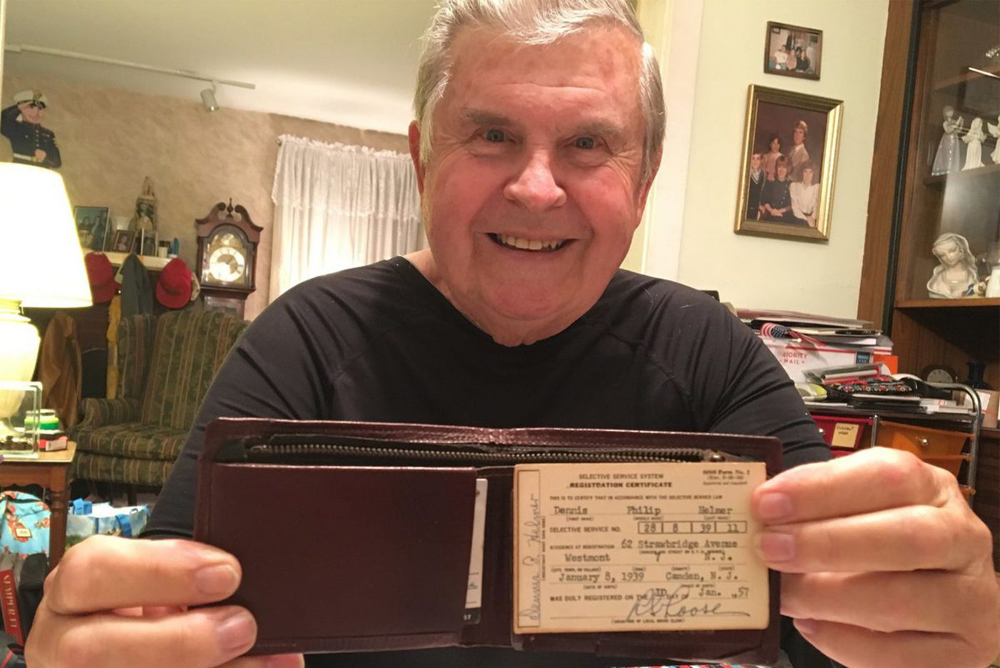Stolen wallet - what stolen wallet? - is found after nearly 50 years