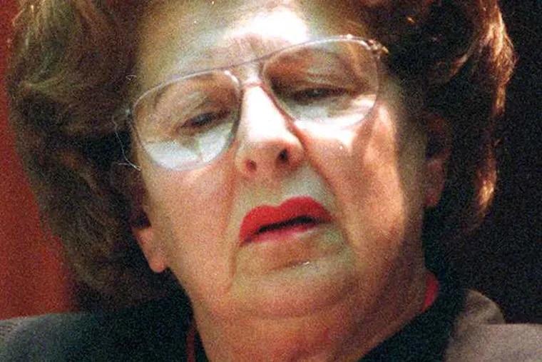 U.S. District Senior Judge Norma Shapiro.