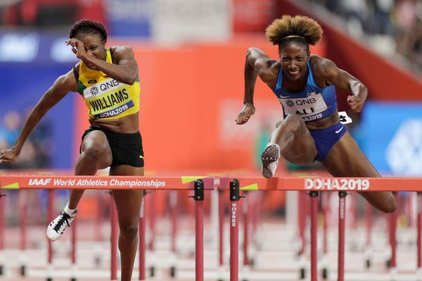 Former West Catholic star Nia Ali wins world championship in 100-meter hurdles