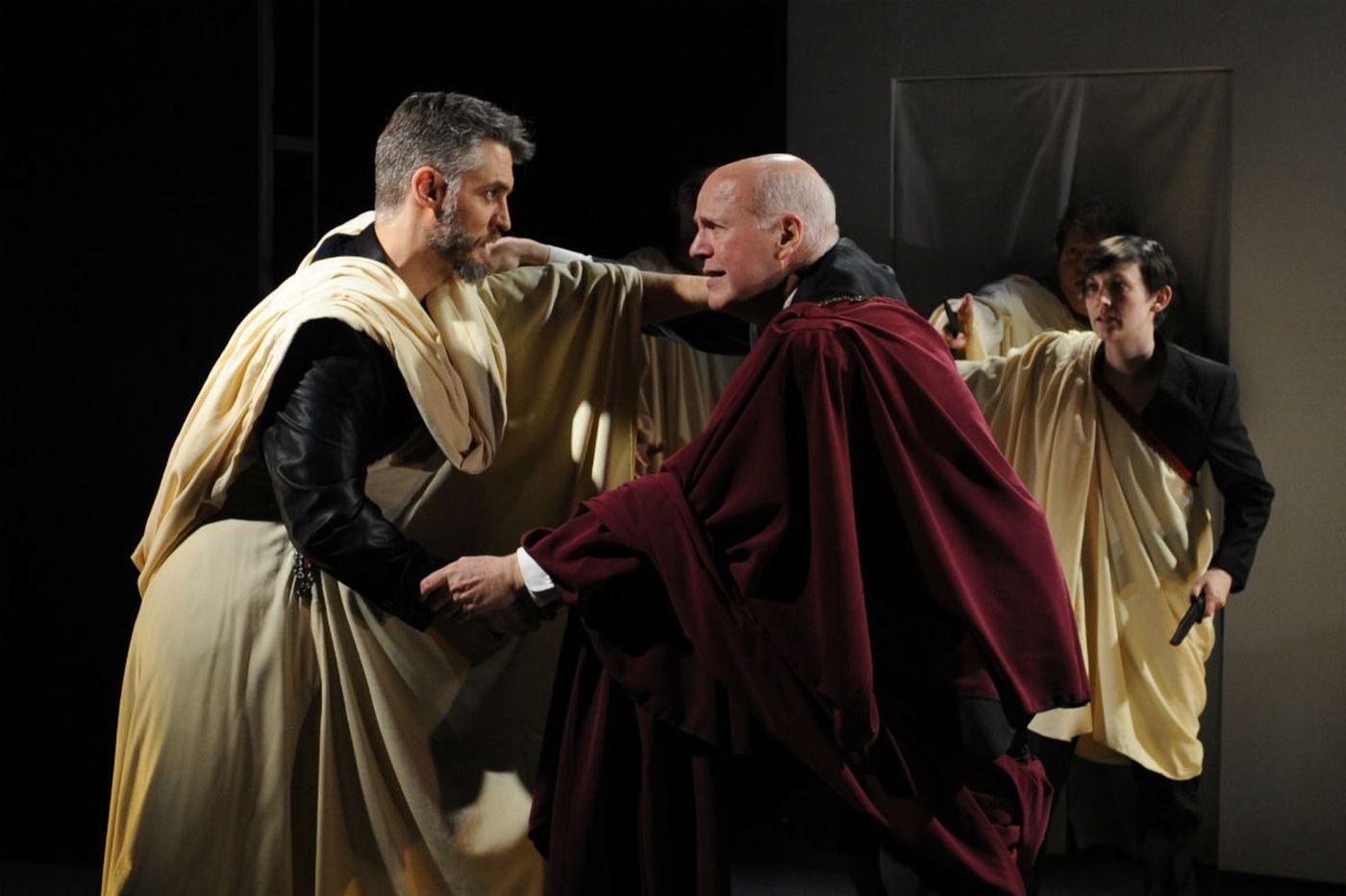 'Julius Caesar' at Quintessence: Tense, tart, appalling, engrossing