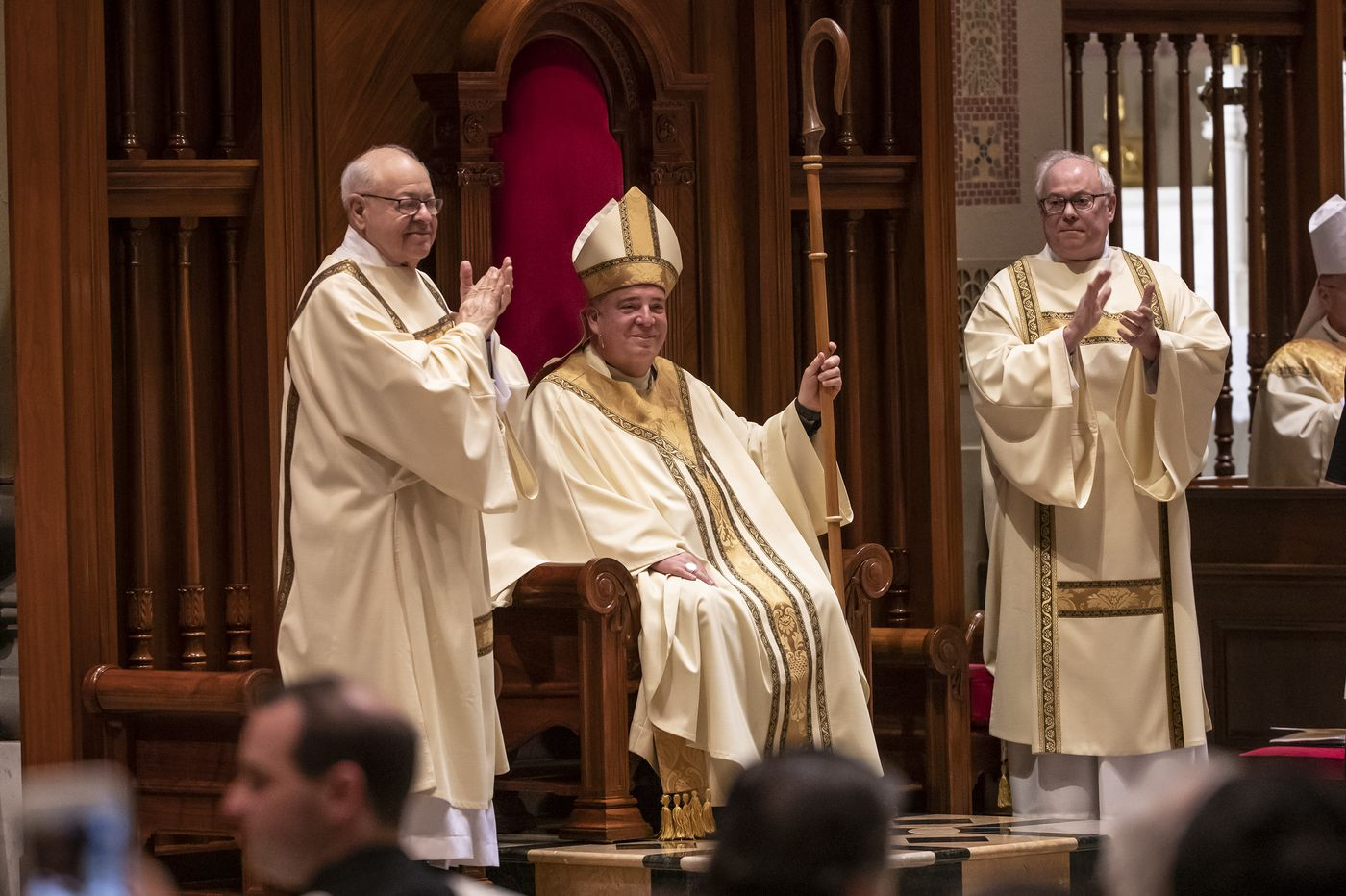 Archbishop Nelson Pérez's installation: New Roman Catholic leader tells flock, 'It's time to come back to the church'