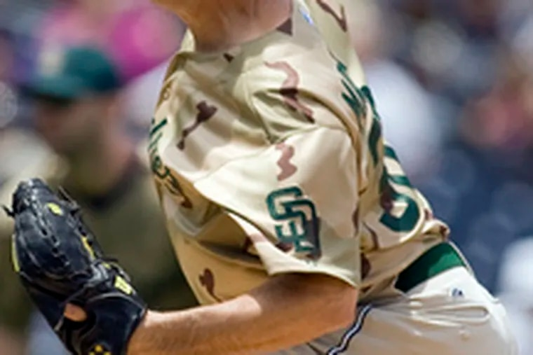 Padres starter Greg Maddux, a Hall of Famer, could be another trade prospect.