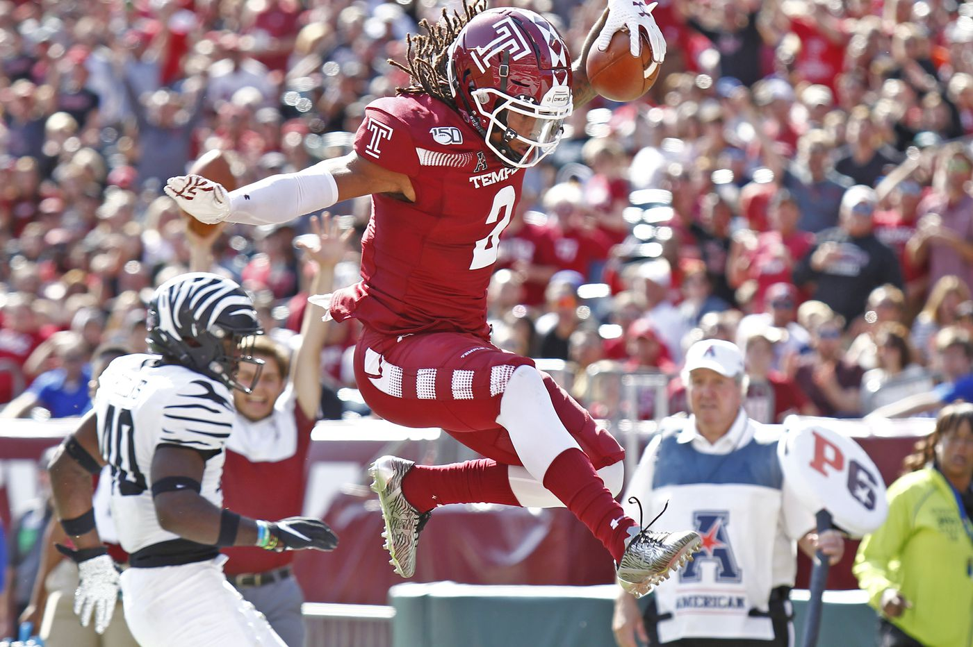 Overturned call is key in Temple's 30-28 win over No. 23 Memphis