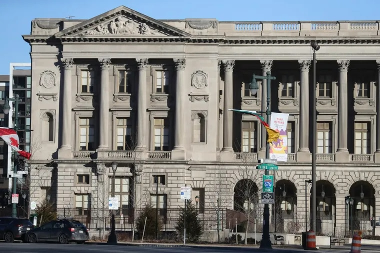 The former Family Court building on the Ben Franklin Parkway at 1801 Vine St.