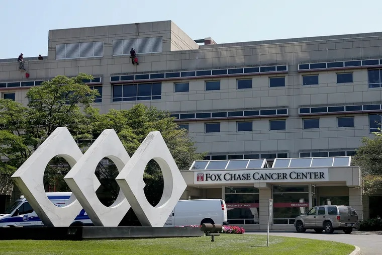 Temple University's Fox Chase Cancer Center is pictured in Northeast Philadelphia on Tuesday, Juy 30, 2019. Temple has reached an agreement to sell the cancer center to Thomas Jefferson University.