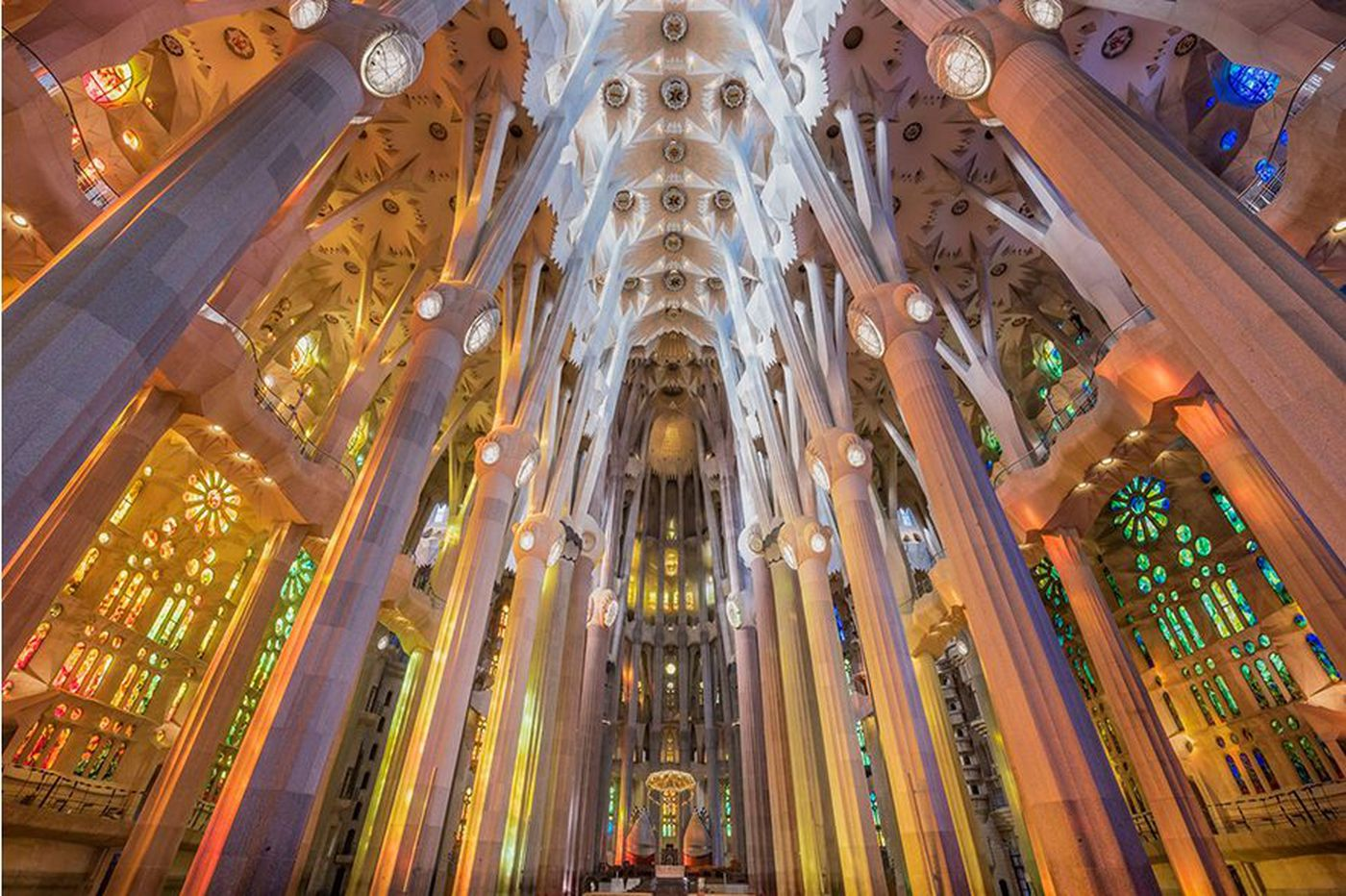 In Barcelona, great architecture with and without the crowds