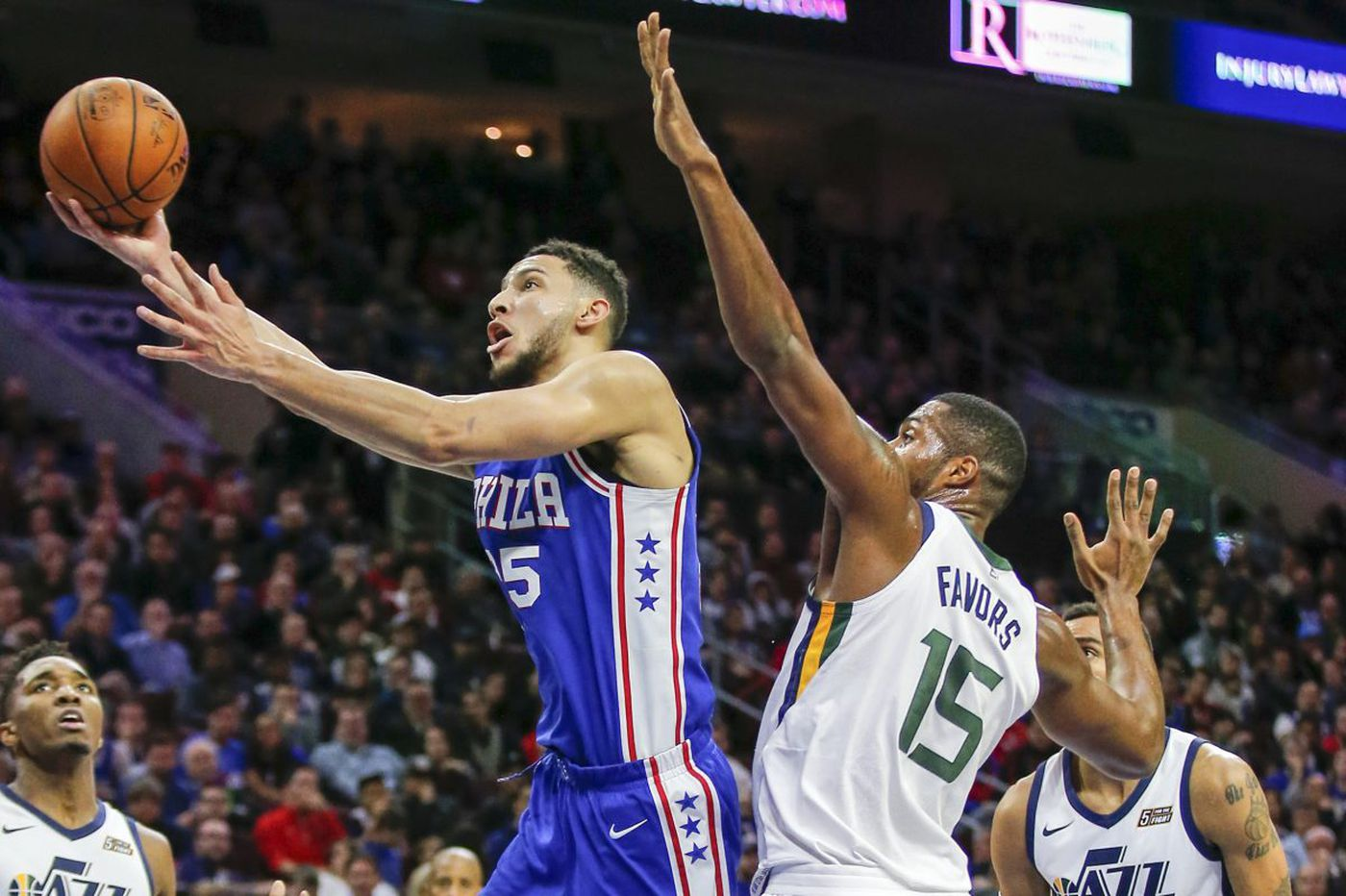 Sixers find their way in unsightly win over Jazz