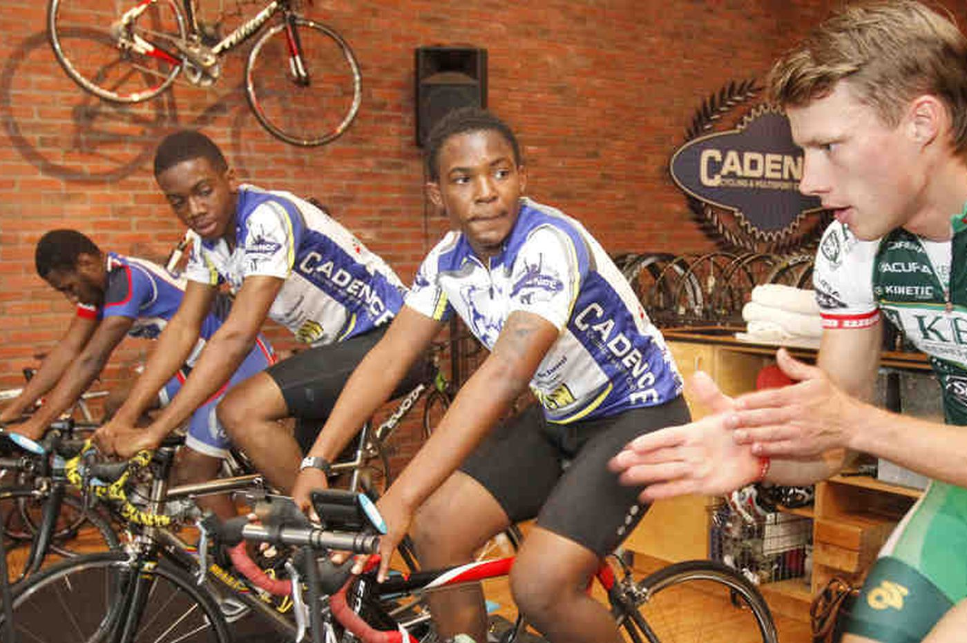 Cycling comes to the inner city