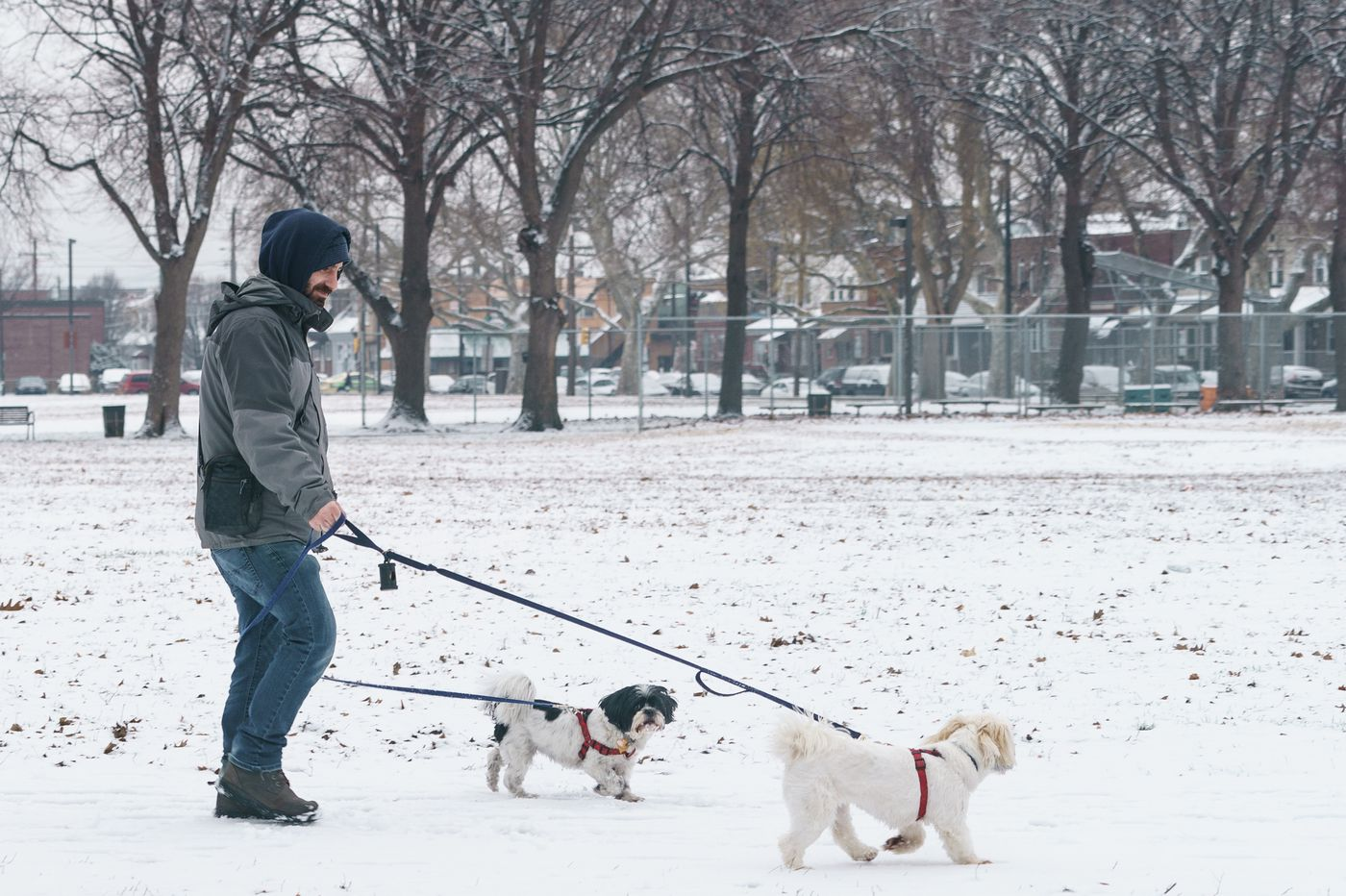 Snow blankets Philly area in prelude to major winter storm; what to expect this weekend