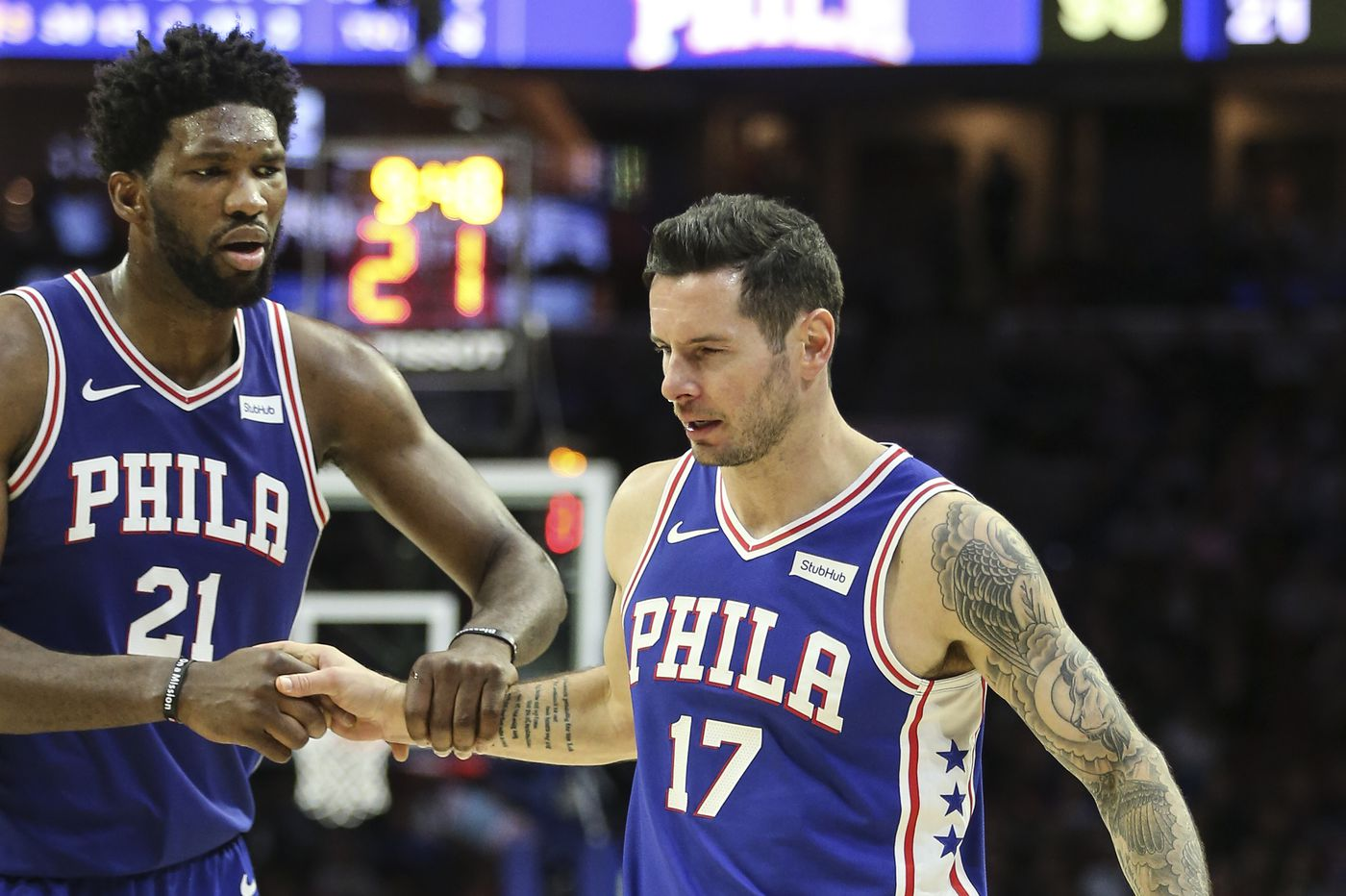 Sixers' starting five out for regular-season finale vs. Chicago Bulls