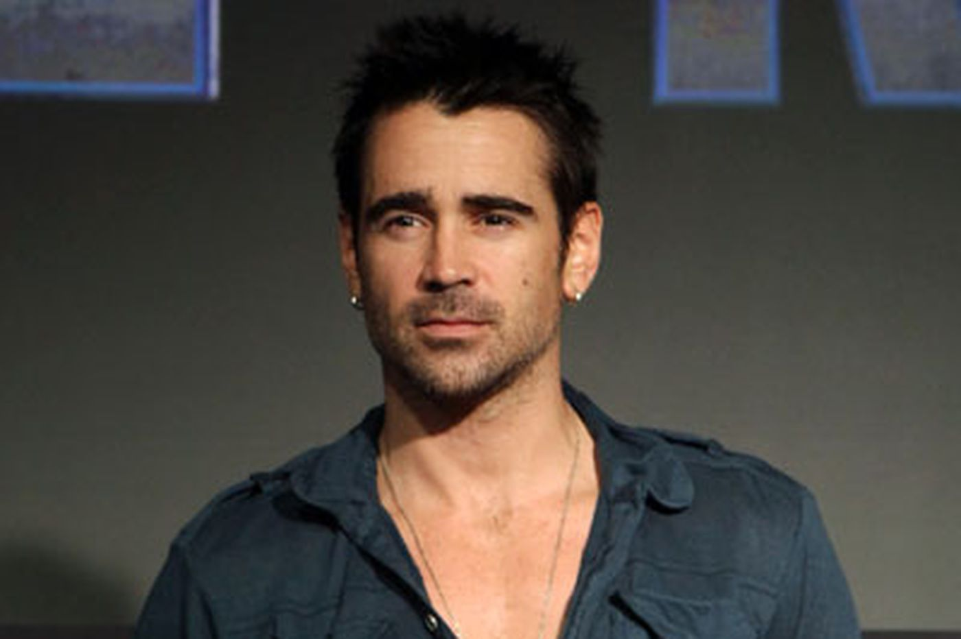 Fathers' Day weekend fun for Colin Farrell