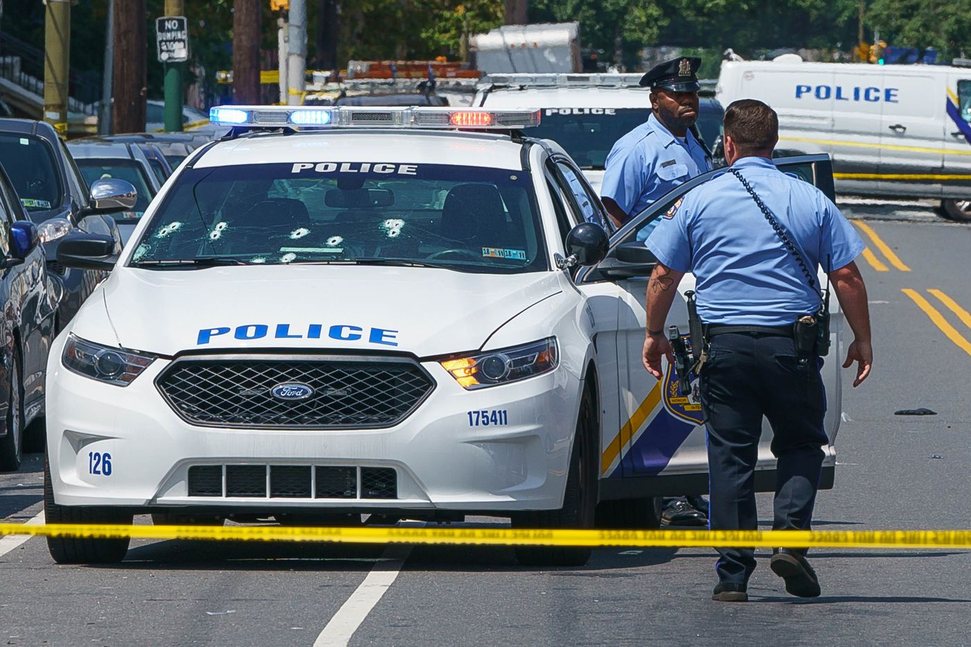 Man killed in shootout with police in South Philly