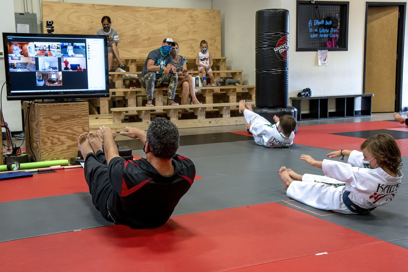 Yoga studios and martial arts gyms reopen in New Jersey with mixed confidence