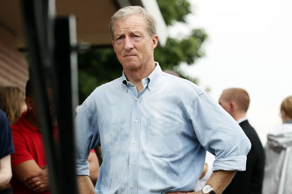 Billionaire Tom Steyer will debate for the first time Tuesday. Did he buy his spot on stage?
