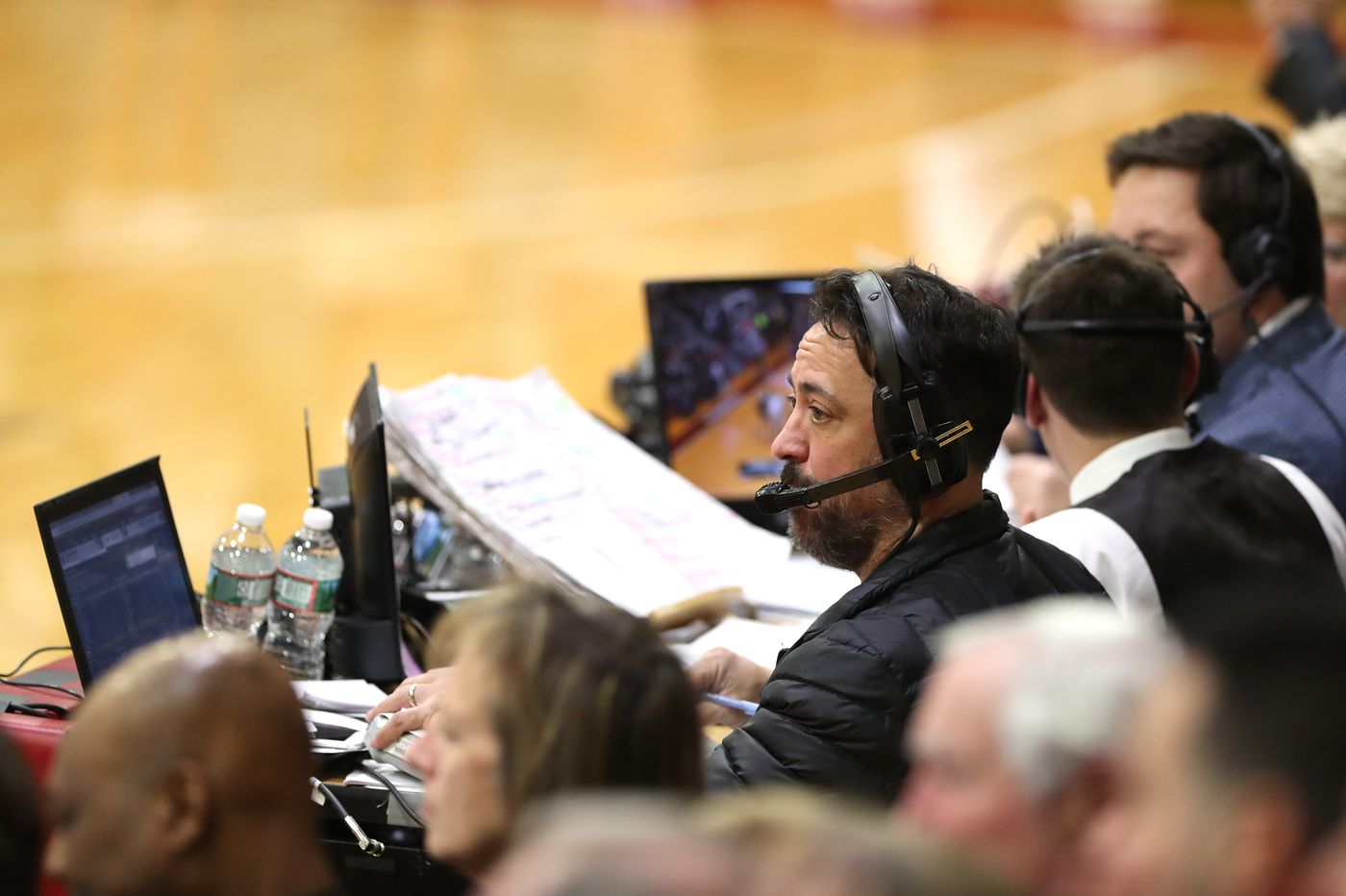 From Villanova to being Joe Buck's stat guy, Ed Sfida makes a living by finding the telling detail
