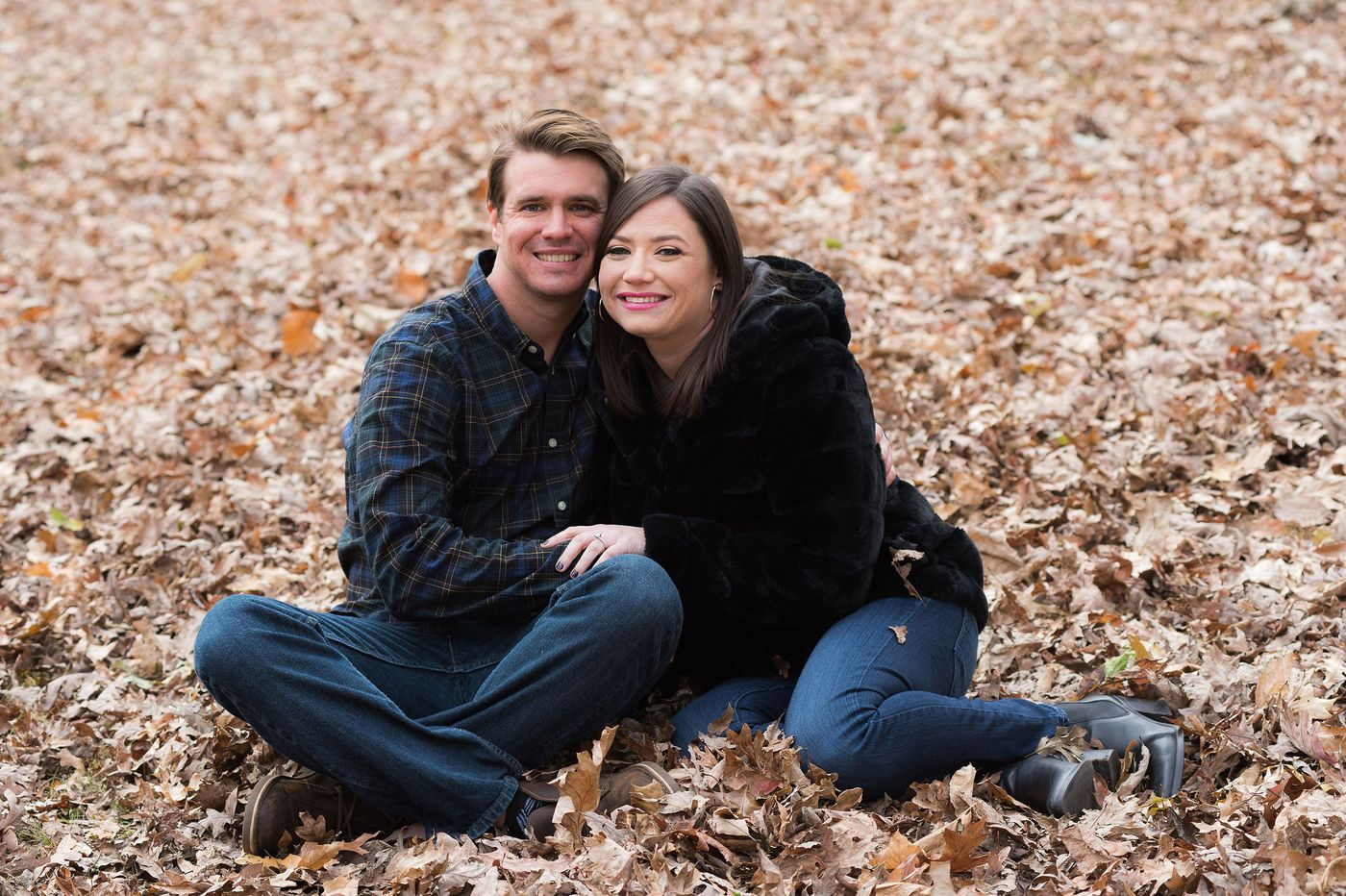 Amy Discount and Ryan Unger prove they can get through anything together