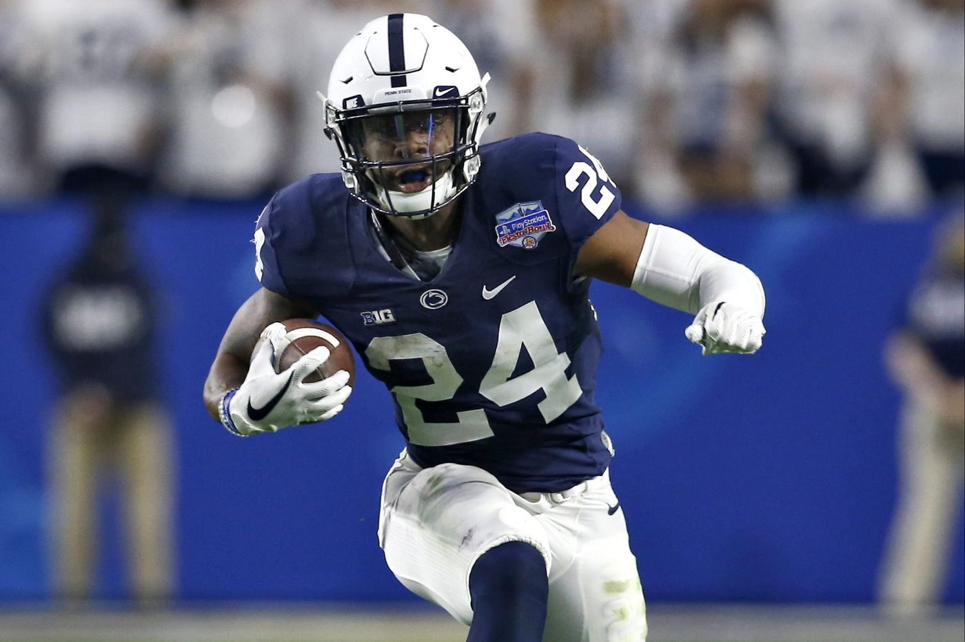 new product 531a0 769e3 Penn State's Miles Sanders ready to replace Saquon Barkley ...