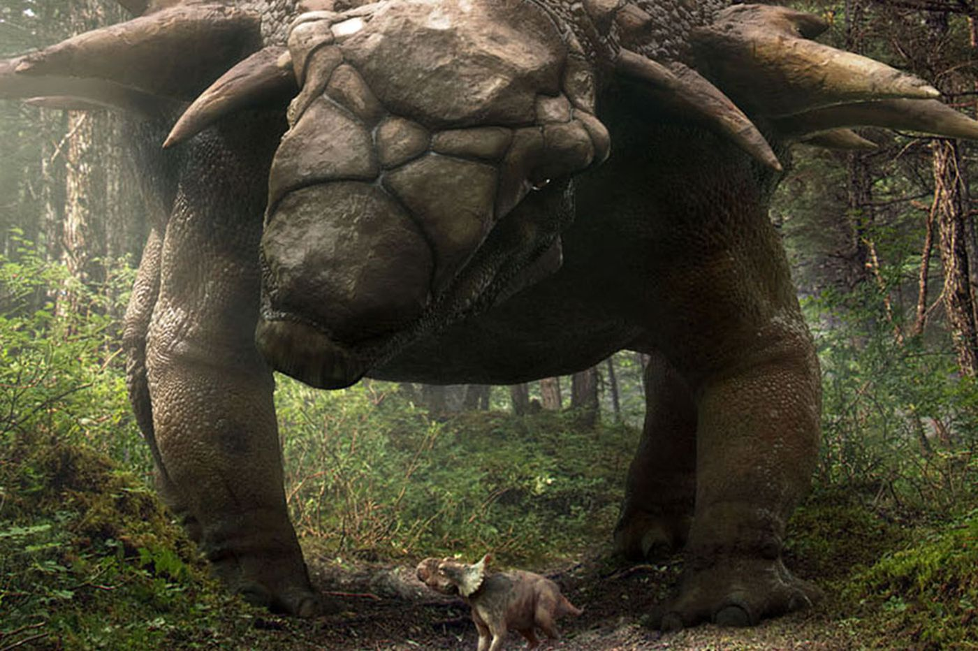 'Walking With Dinosaurs': Scenery's the star
