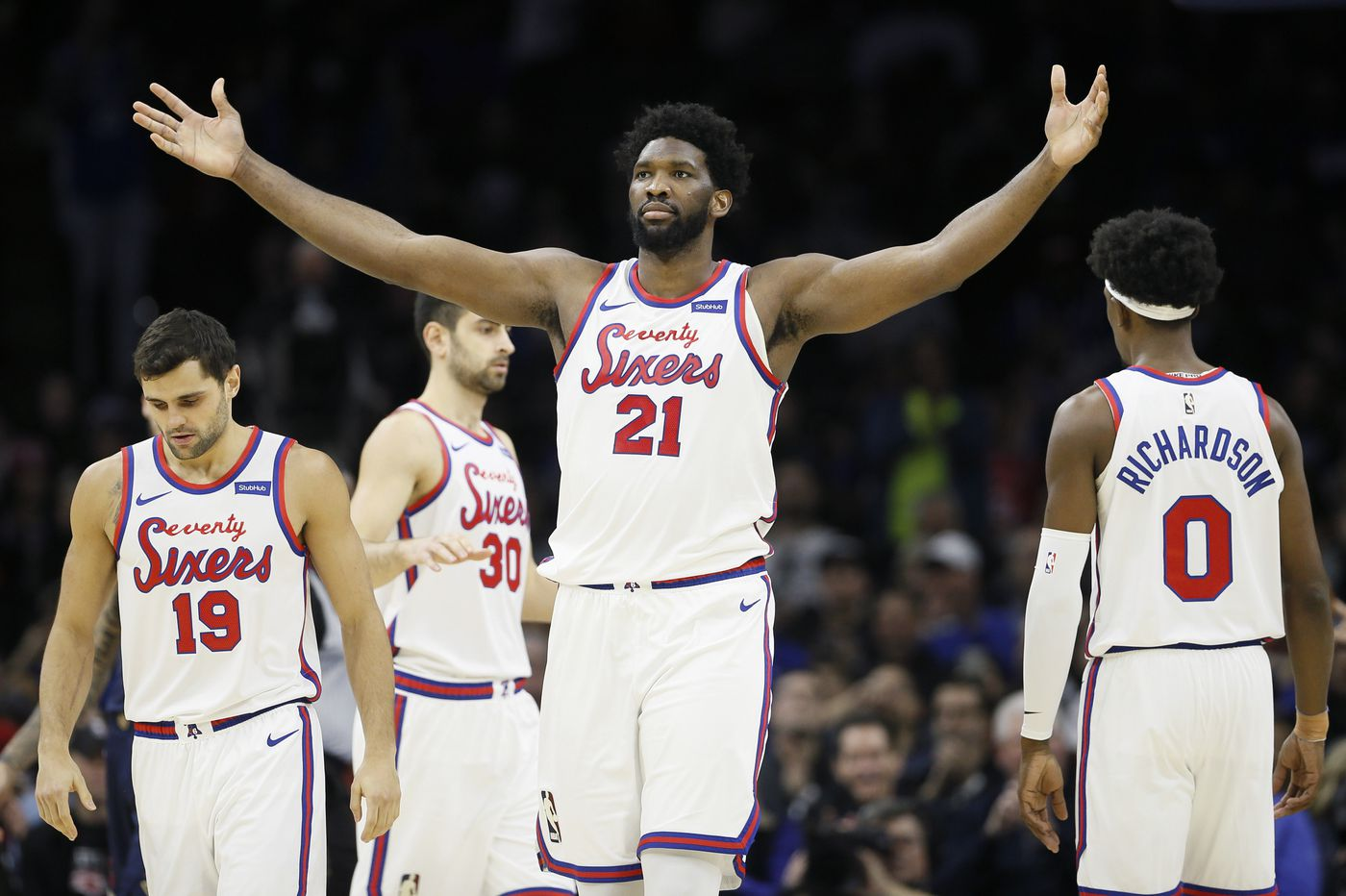 Sixers' Joel Embiid to miss game against Brooklyn Nets