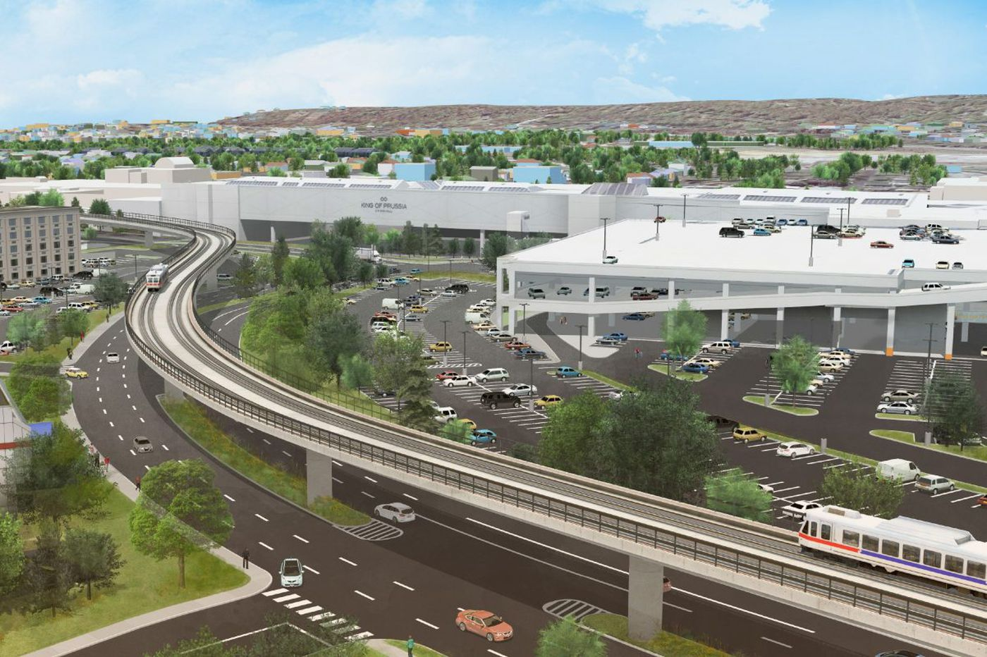 Group forms to back rail to King of Prussia as vital city-suburban link