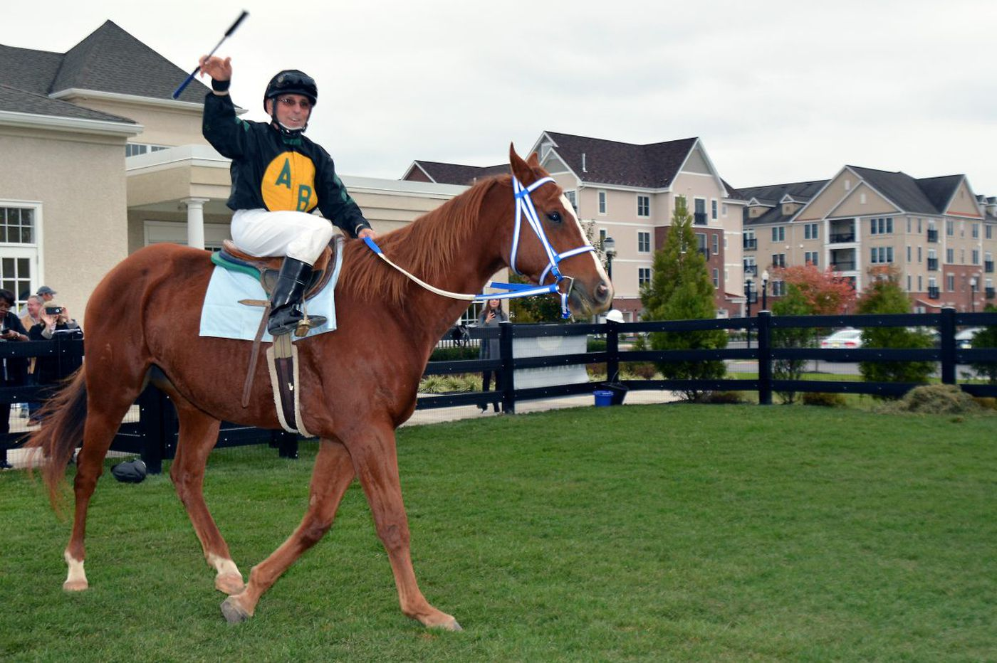 Former Garden State Park jockey aims for two more wins