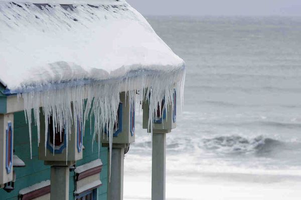 Storm extended some Shore vacations