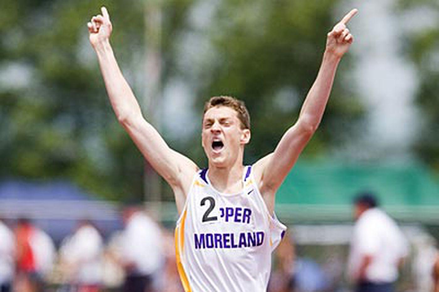 U. Moreland's Magaha is boys' track athlete of year
