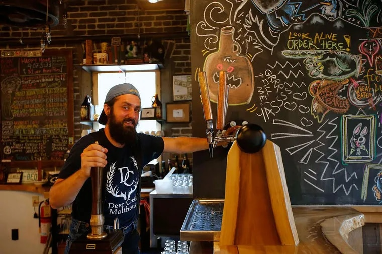 Sam Masotto, owner of Bonn Place Brewing Co. in Bethlehem, Pa., which won two medals at the Great American Beer Festival.