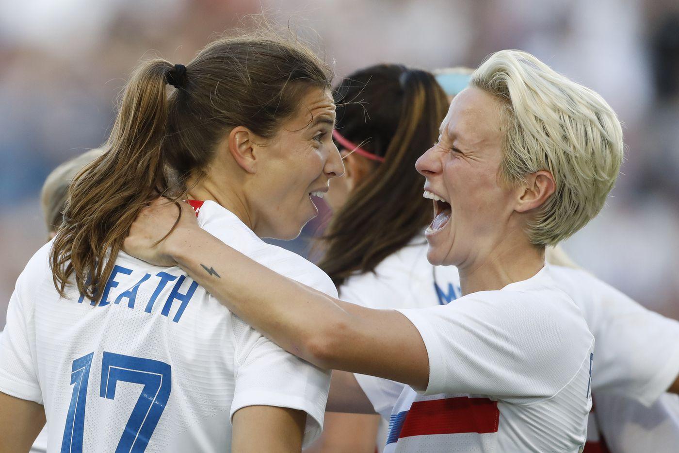 Tobin Heath, Megan Rapinoe and Lindsey Horan give the U.S. women's soccer team its swagger back