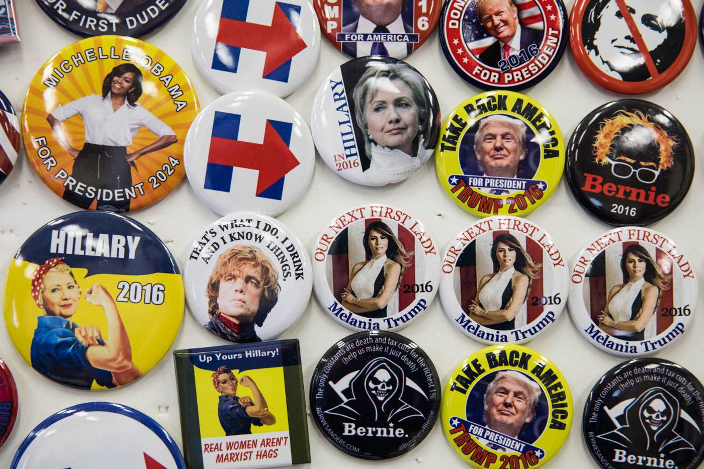 What happens to all those political buttons post-election? Collectors swap them in South Jersey