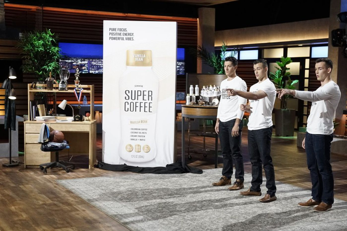 Former Philadelphia University basketball player competes on Shark Tank with Super Coffee product