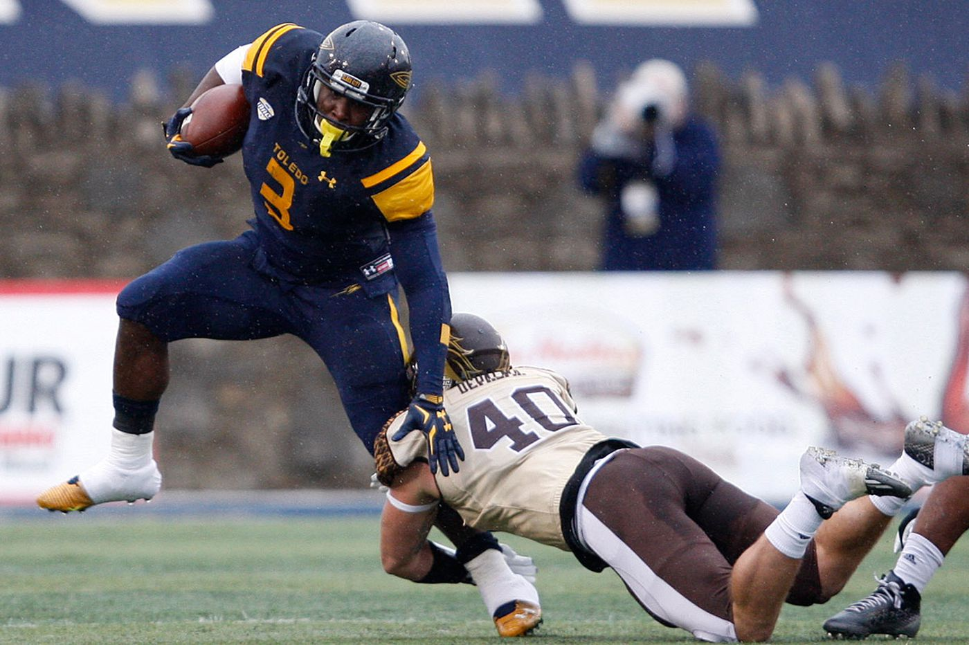 Toledo's stacked running game will challenge Temple