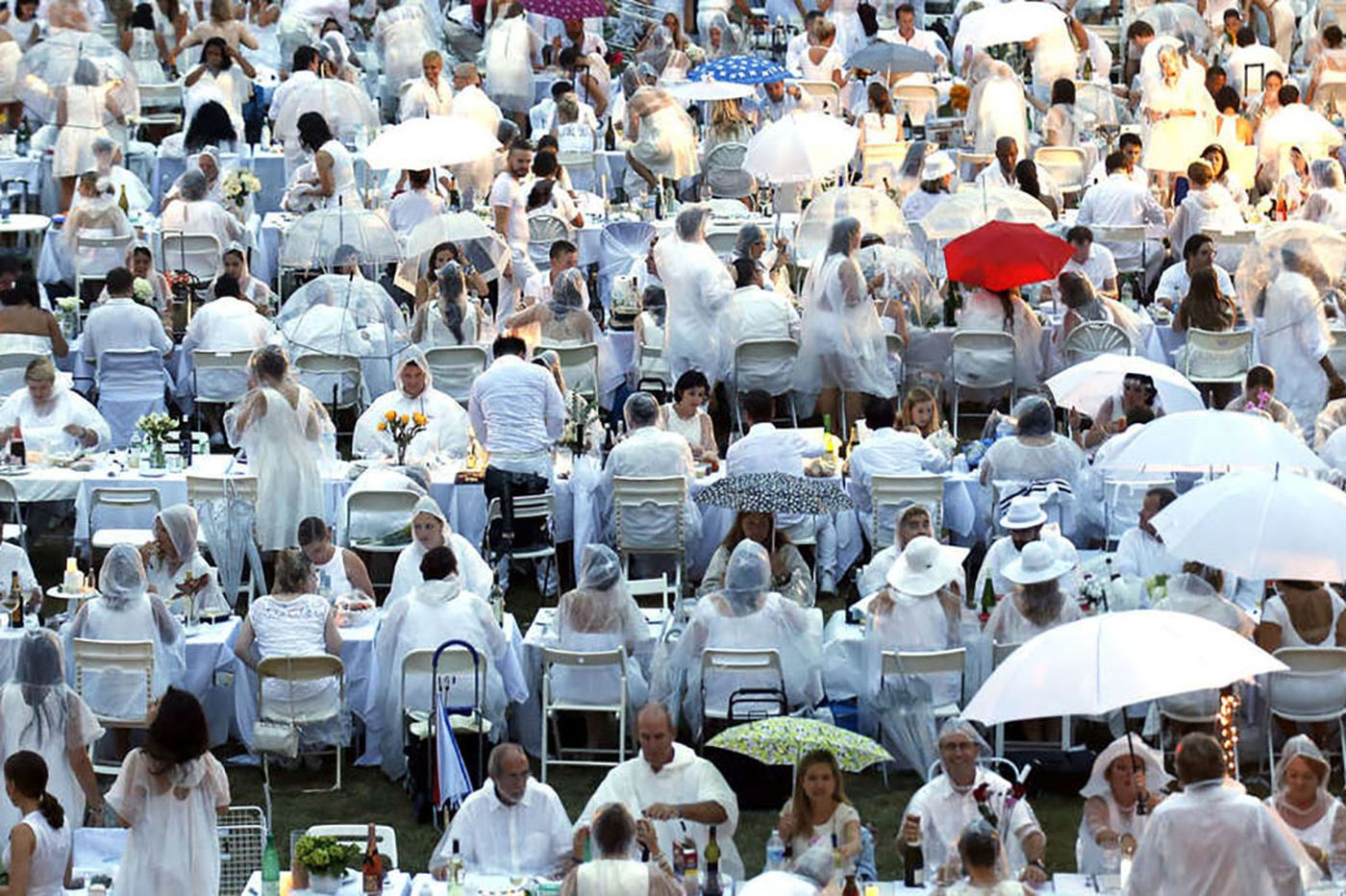 Diner en Blanc, the pop-up picnic, to return for 2019 — the largest in the U.S.