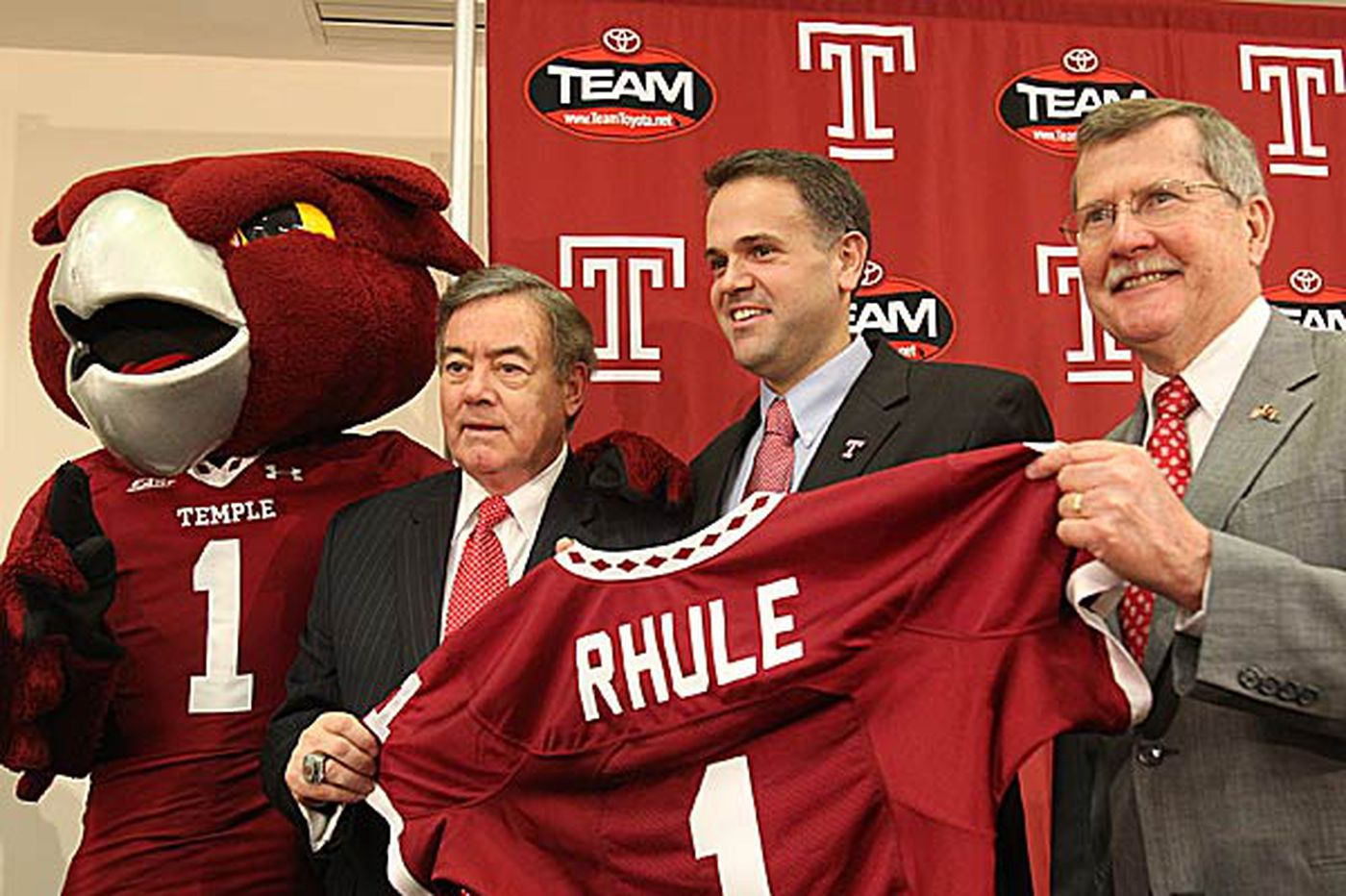New Temple coach Matt Rhule a popular choice