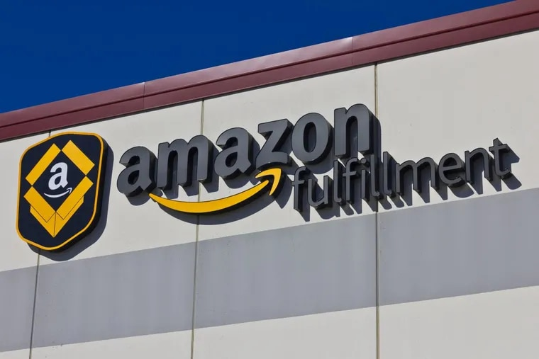 An Amazon fulfillment center in Indianapolis.
