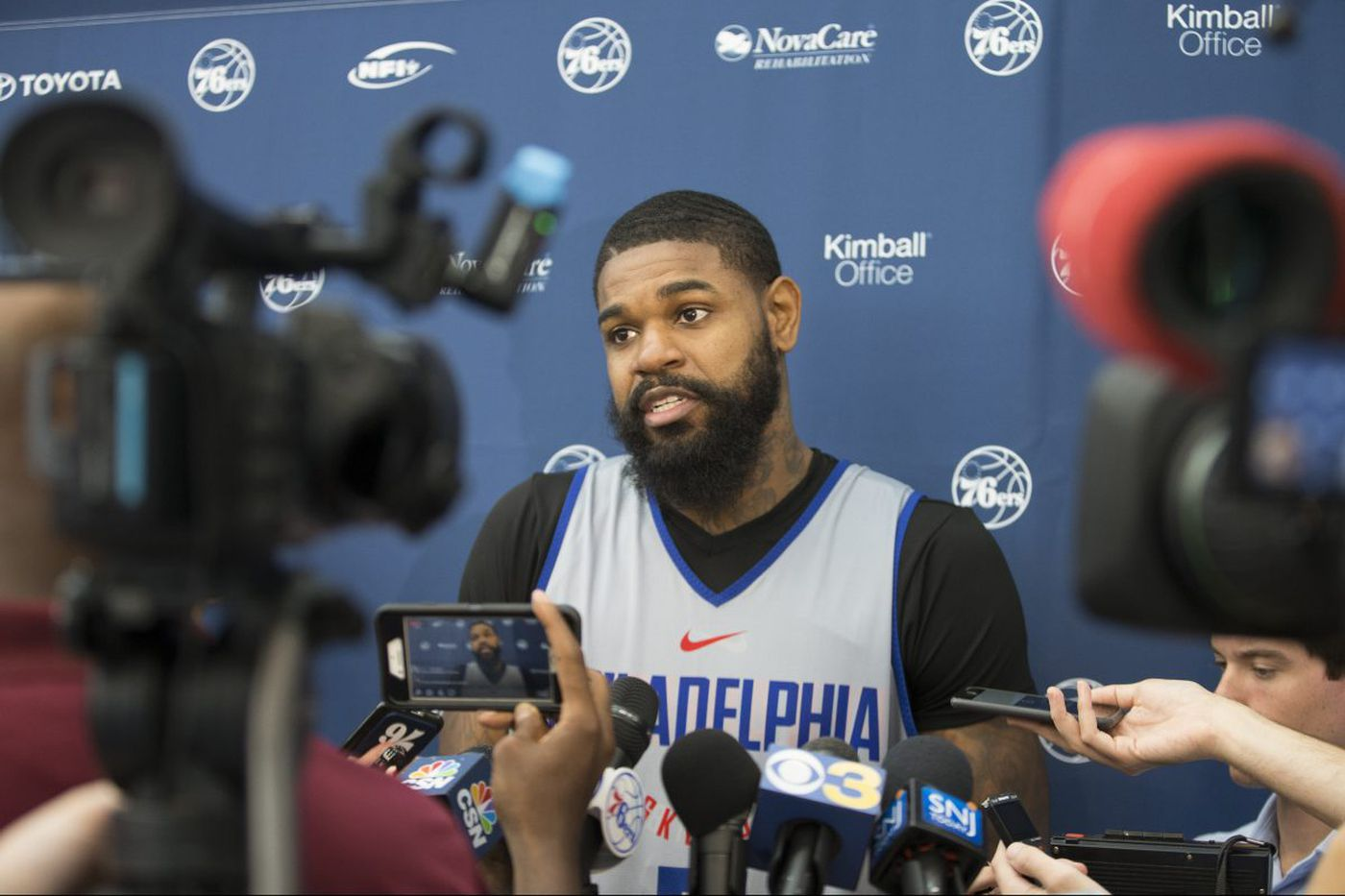 Sixers' Amir Johnson will sit out Boston Celtics game in London