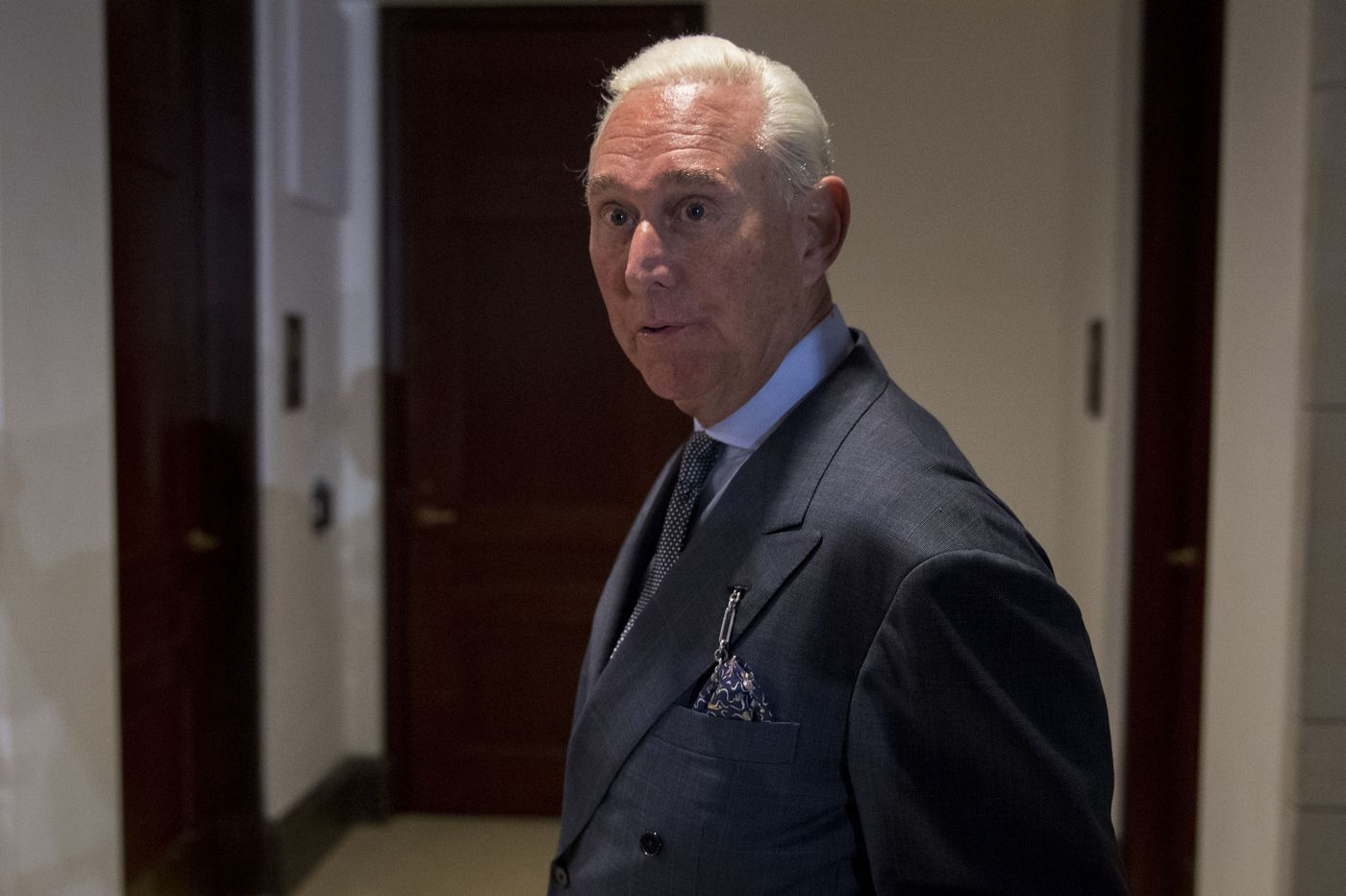 Robert Mueller's team investigating candidate Trump's late-night calls to mentor Roger Stone