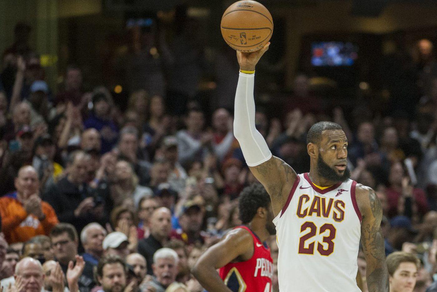 Sixers coach Brett Brown: Cavaliers' LeBron James is NBA's best ever