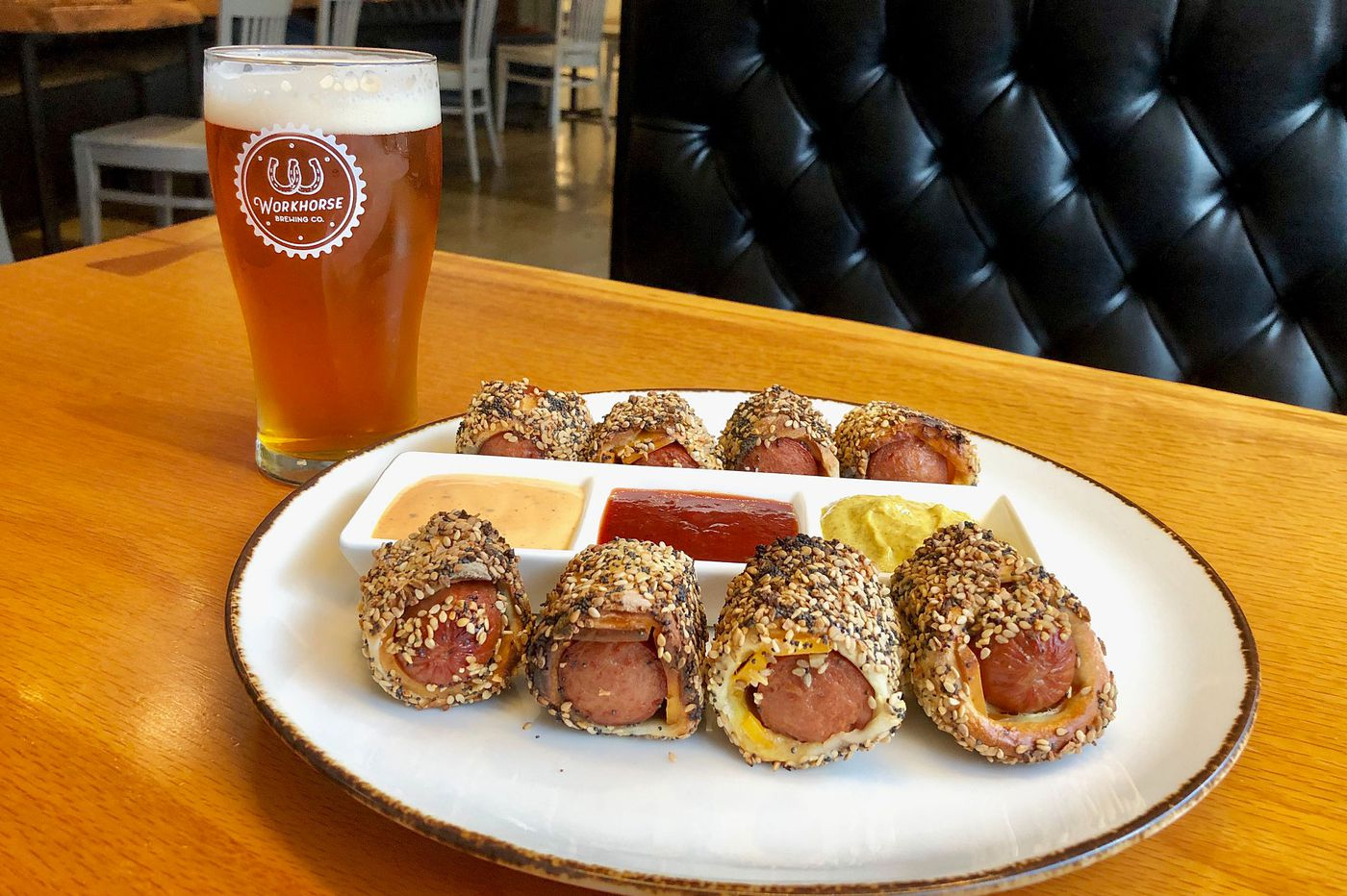 Bagels and beer as Spread Bagelry and Workhorse Brewing meet up in Center City
