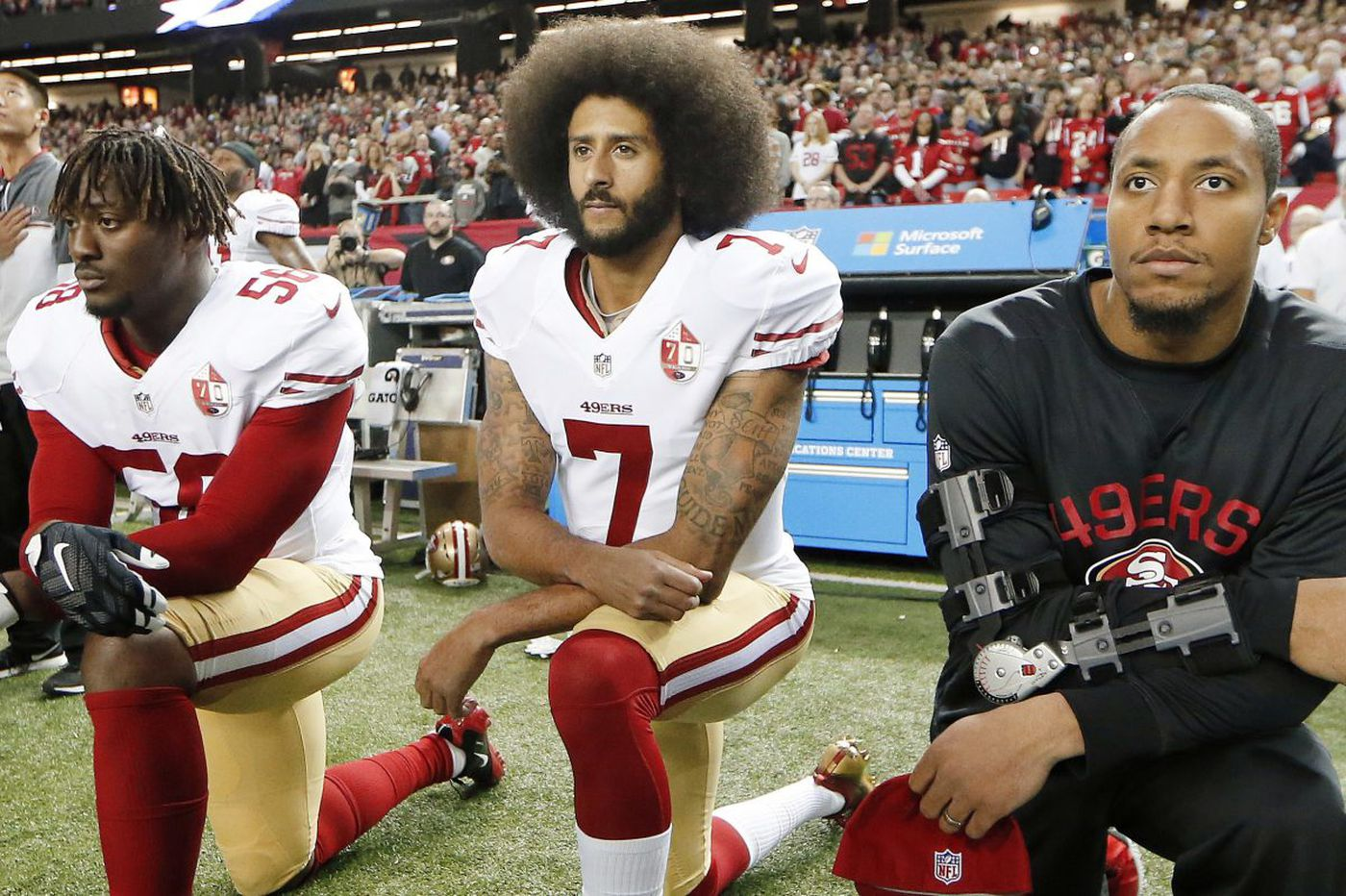 Colin Kaepernick's decision to take a knee will be his lasting legacy   Bob Brookover