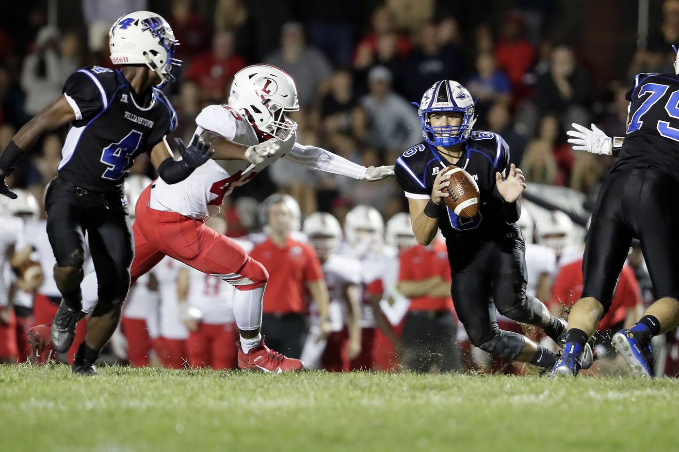 Williamstown vs. Cherokee: Braves quarterback Doug Brown is out to avenge last year's defeat