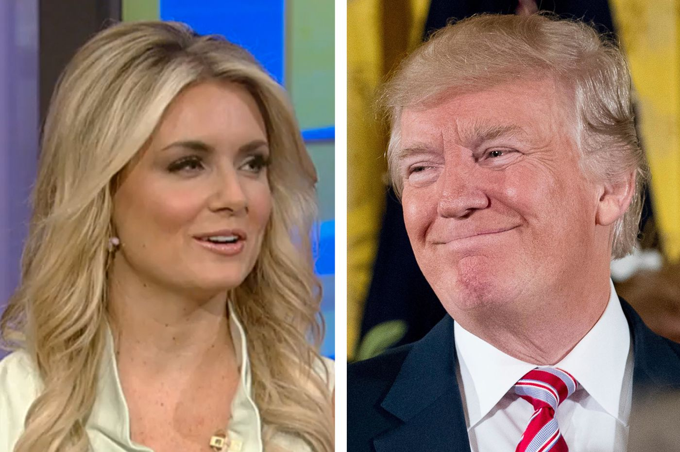 Ex-CSN Philly host Jillian Mele ends up on Trump's Twitter account